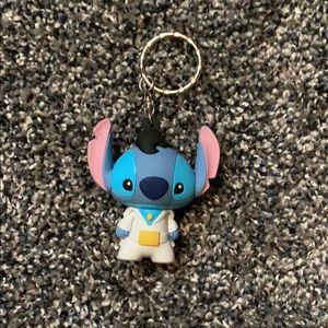 Disney TWO Stitch Keychains